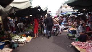 カンボジアの人々のリアルな生活を垣間見れる場所@プノンペン〜カンダール市場