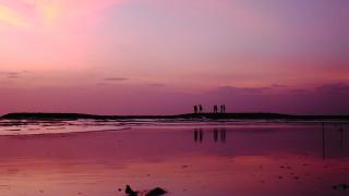 バリ島に来たらマストで見たい!クタビーチからのサンセット!!