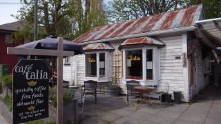 ソルトスプリング島の地元民に愛されているカフェ@Cafe talia