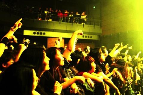 ライブ観客