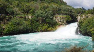 タウポの大人気観光スポット、フカフォール&無料温泉への行き方