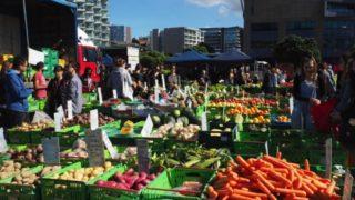 ウェリントンの大型ファーマーズマーケットの開催日と時間、場所は?