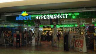 ブルノ中心部の全スーパーマーケットまとめ